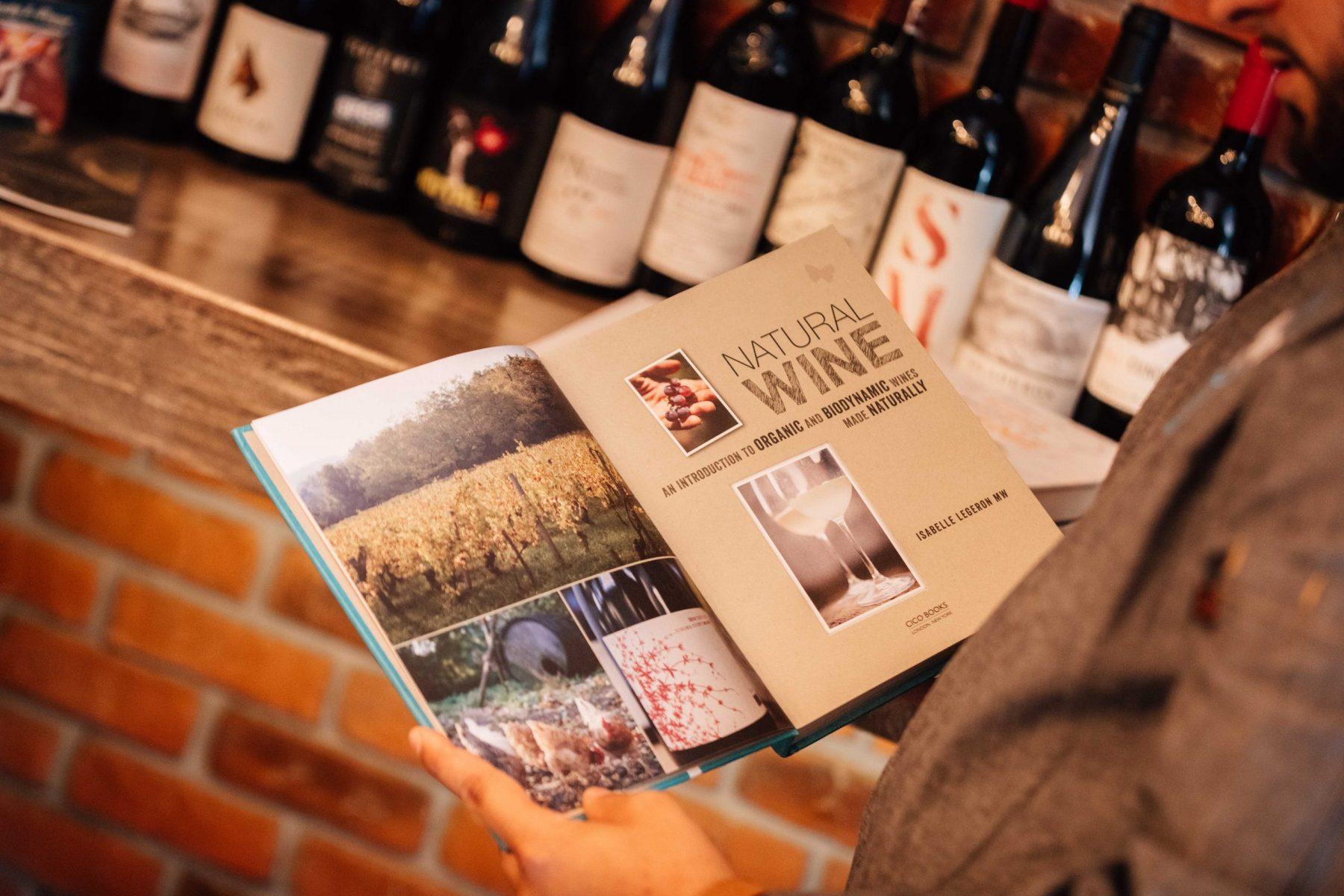 Libro de vinos naturales